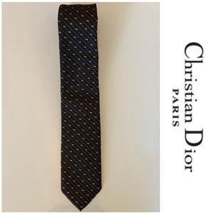 Christian Dior Designers  Striped Tie